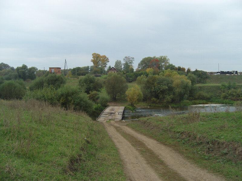 мост через Осетр у Овечкино