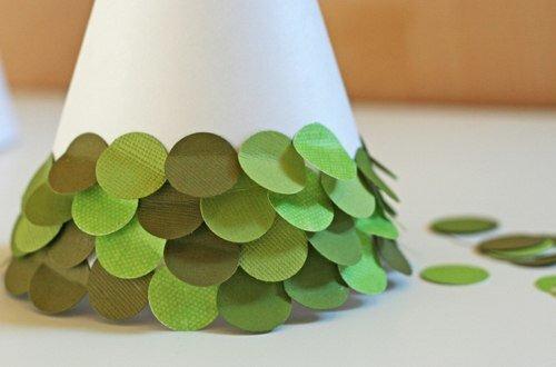 Самодельные игрушки на елку из бумаги своими
