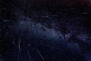 Сегодня ночью Молдова наблюдает за пиком звездопада