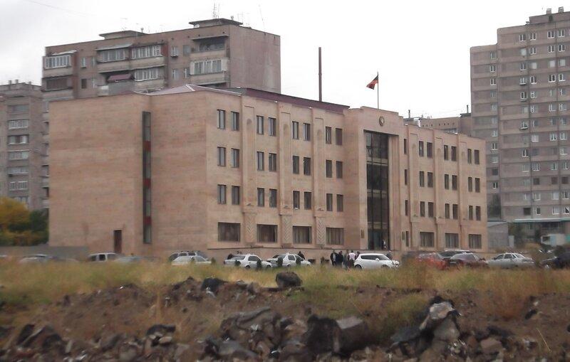 Новое здание ОВИР