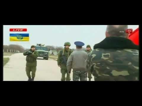Українські солдати, офіцери під Український Гімн пішли відбирати позиції в Бельбеку.(Видео)