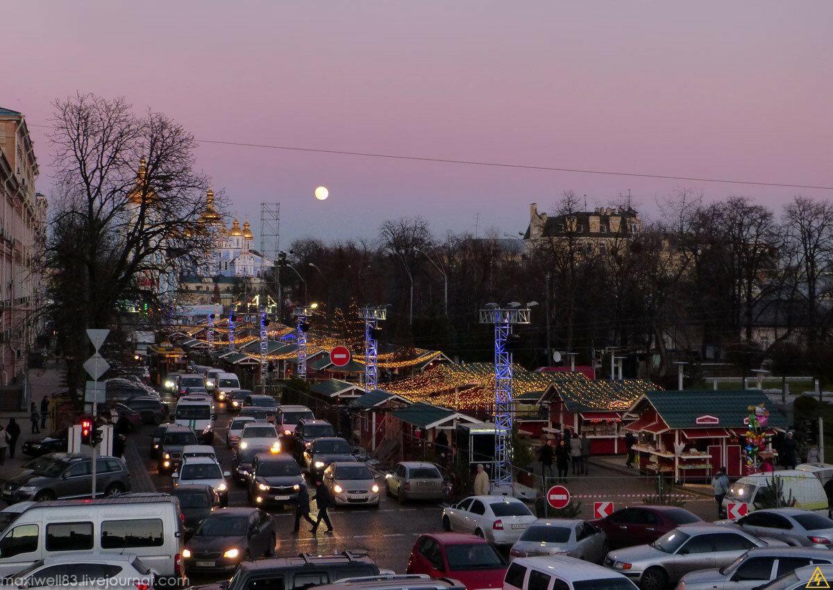 Головна новорічна ялинка країни на Софійській та Михайлівській площах 2016