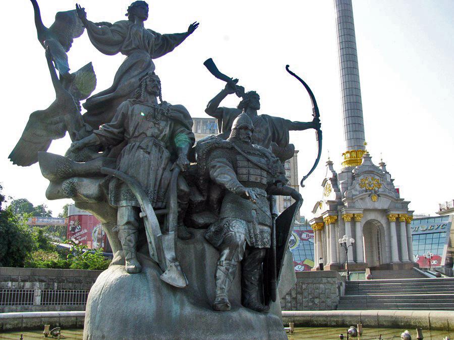 водоём населяет памятники киева фото и описание народов