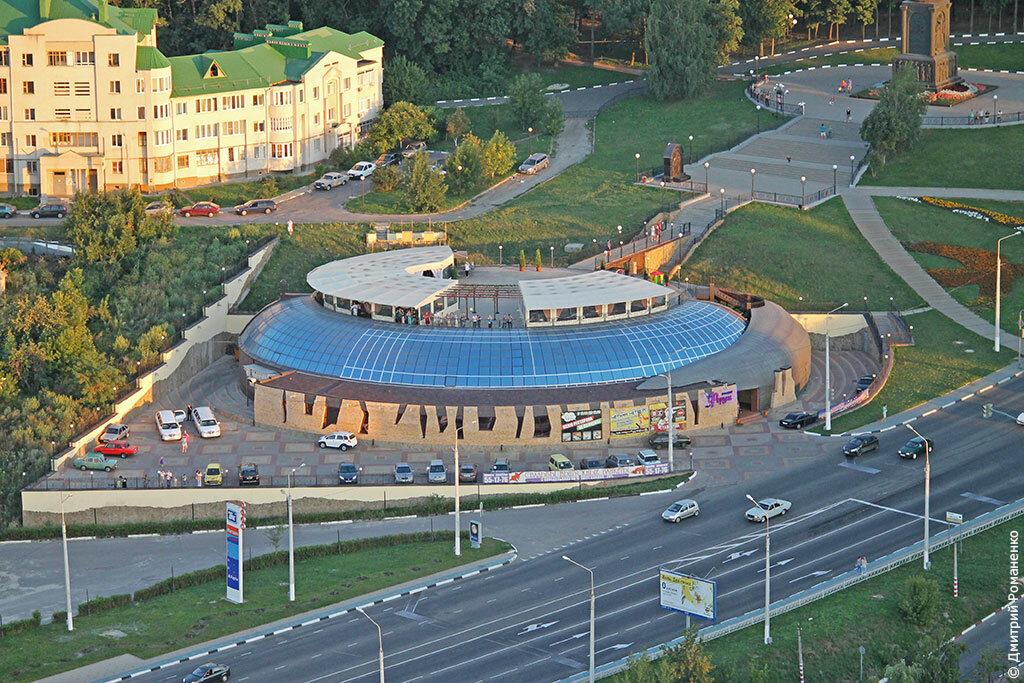 фотографии Белгорода, с высоты птичьего полёта, небосвод белогорья