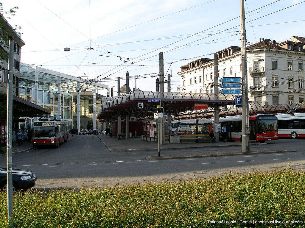 Кантон Санкт-Галлен. Швейцария