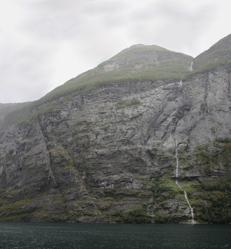 Geirangerfjord, the Seven sisters Falls the Seven sisters waterfall