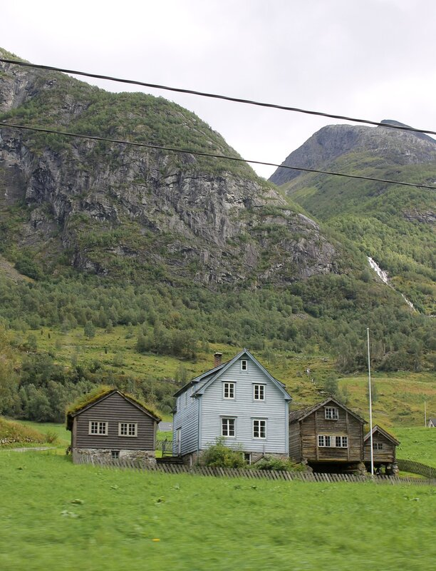 Ландшафты западной Норвегии.  landscape of Western Norway