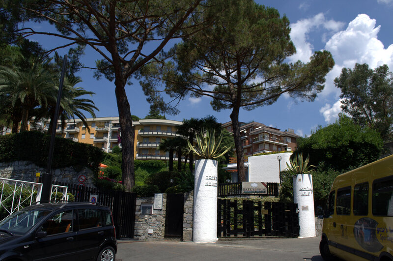 Дом В Лигурии, где мы снимали аппартаменты