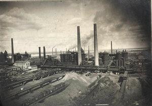 Панорама завода.
