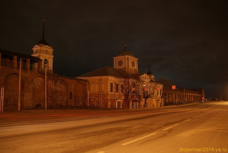 ночной Смоленск
