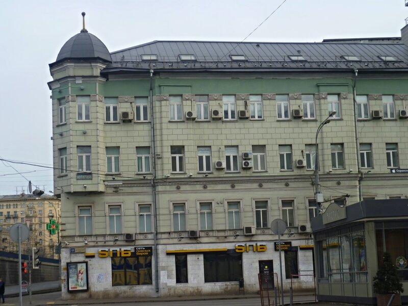 Садовая-Сухаревская улица. Садовое кольцо.