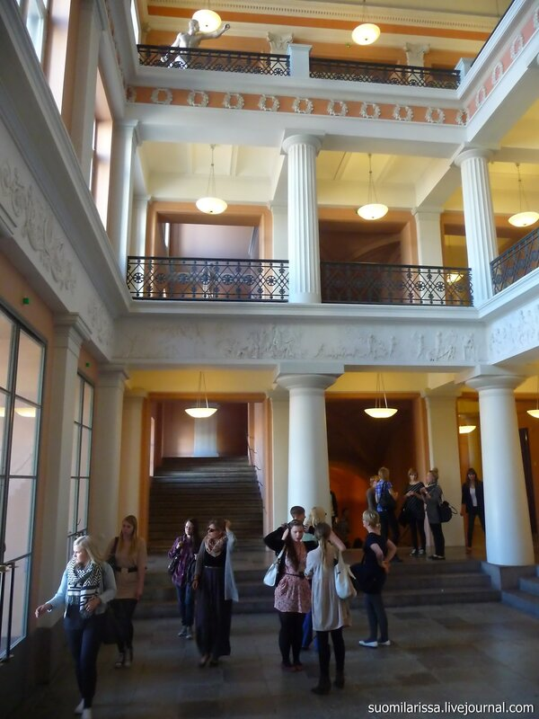 Хельсинки. Главное здание университета.