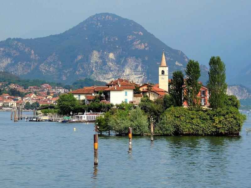 Вид на остров Пескатори