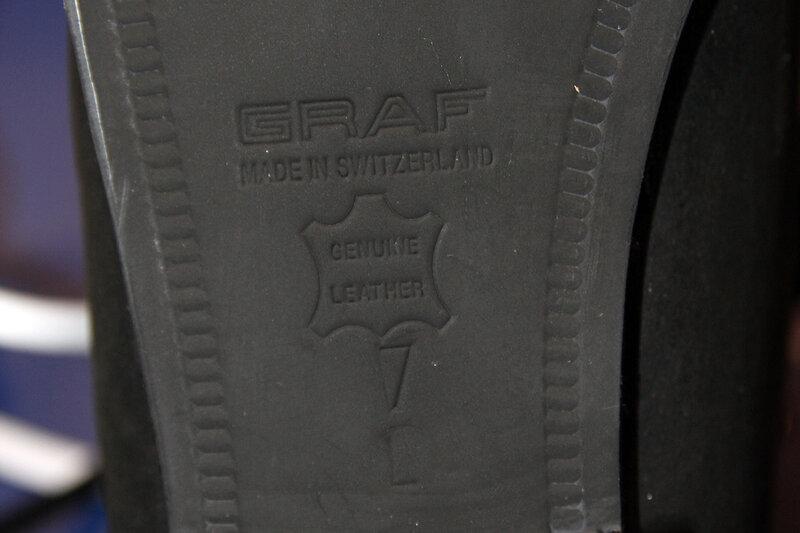 Профессиональные фигурные ботинки Graf Edmonton Special (Швейцария) в полноте L