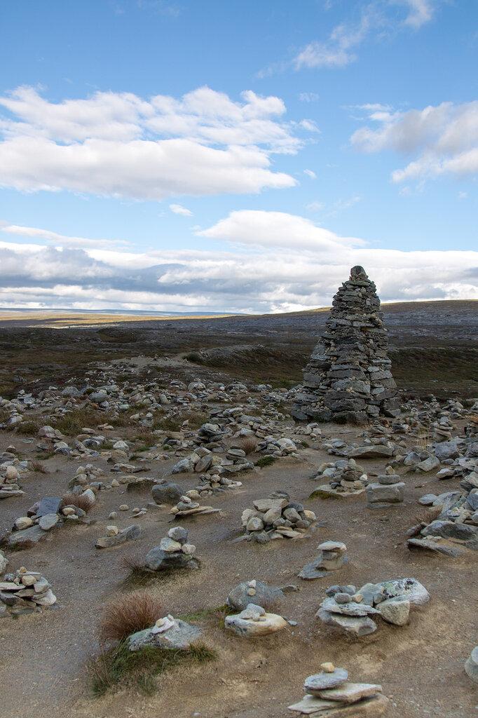 Тролли из камней в Норвегии