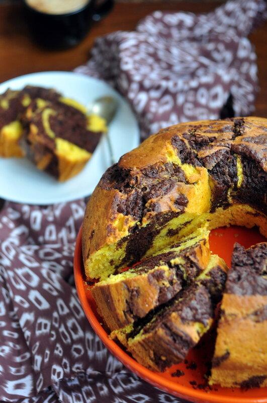 Тыквенно-шоколадный кекс новые фото