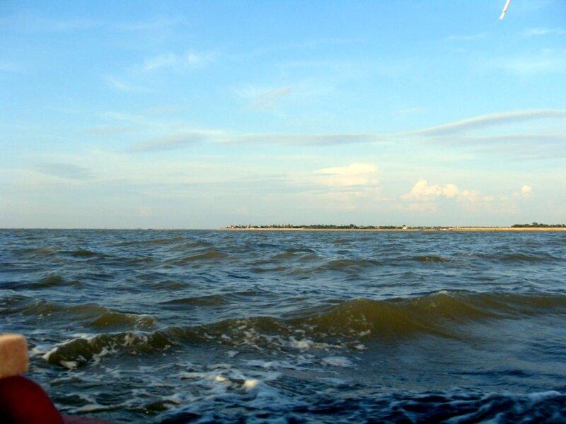 В море, на яхте, лето