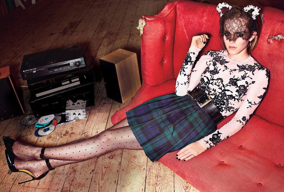 модель Эмма Уотсон / Emma Watson, фотограф Alexei Hay