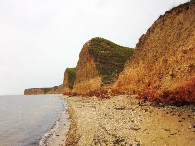 красные скалы на Тарханкуте