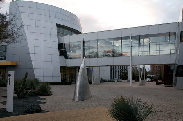 Googleplex. Маунтин-Вью, Калифорния