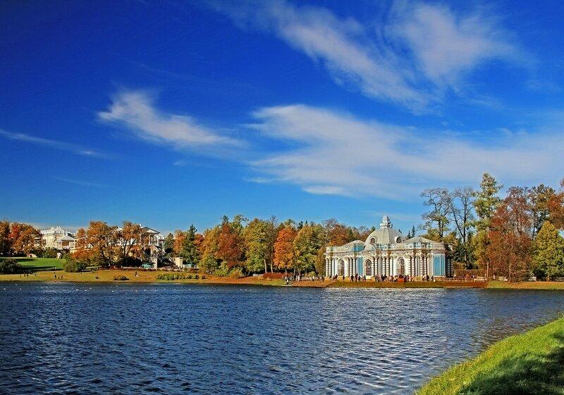 Екатерининский парк. Царское село