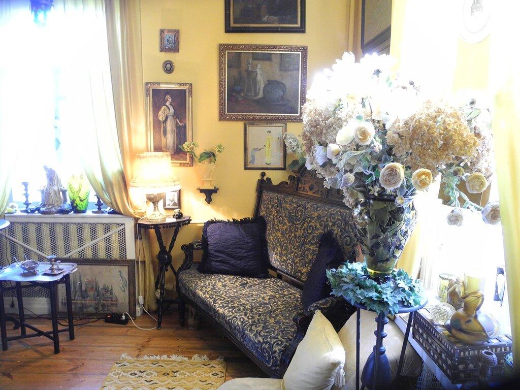 Интерьер имения в Литве А.Васильева