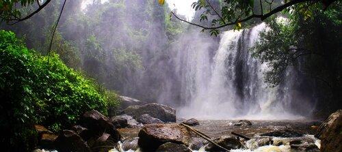 Водопад Пном кулен, Камбодже