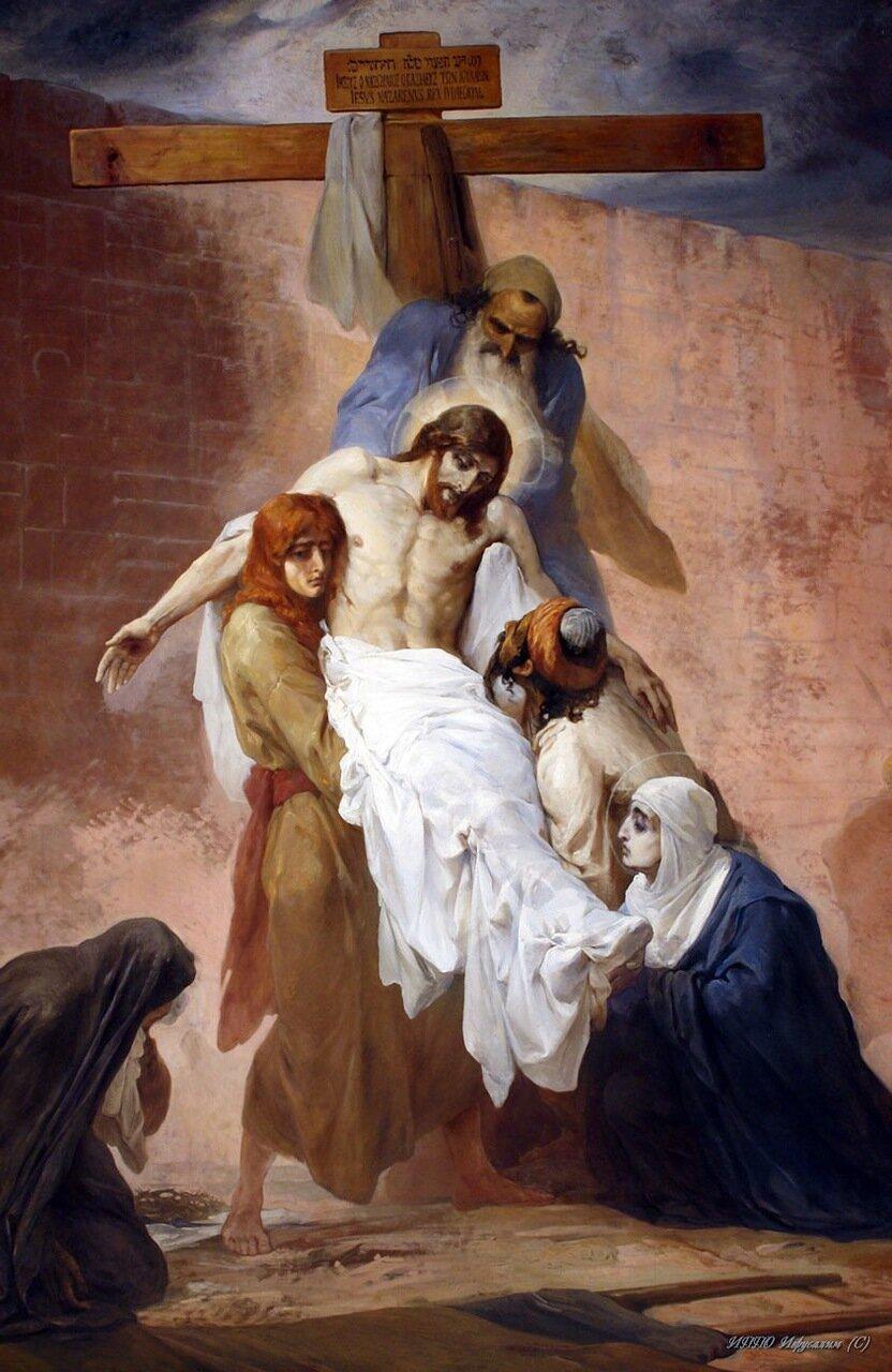 Снятие с Креста (современная реставрация)