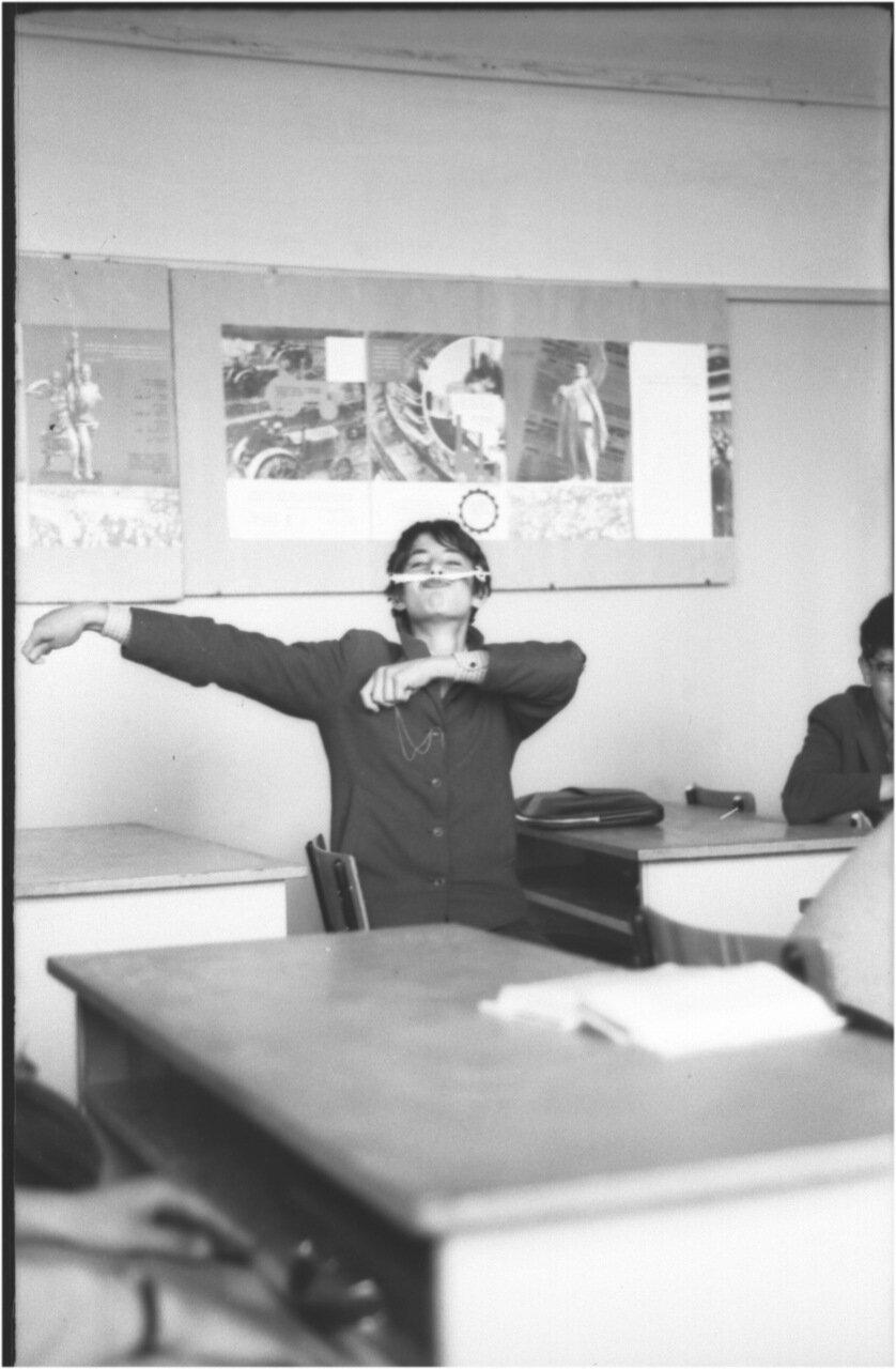 1969-70 класс 8 В.  Игорь Микаберидзе
