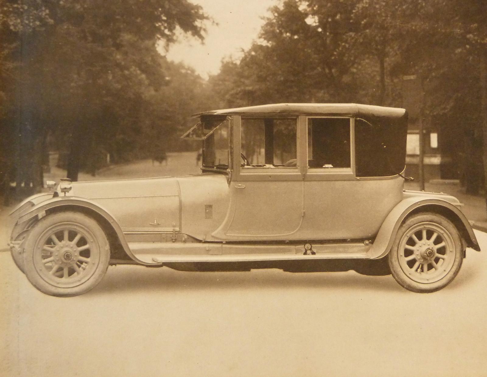 Автомобиль британской компании Sheffield-Simplex графа Ирла Фитцуильяма