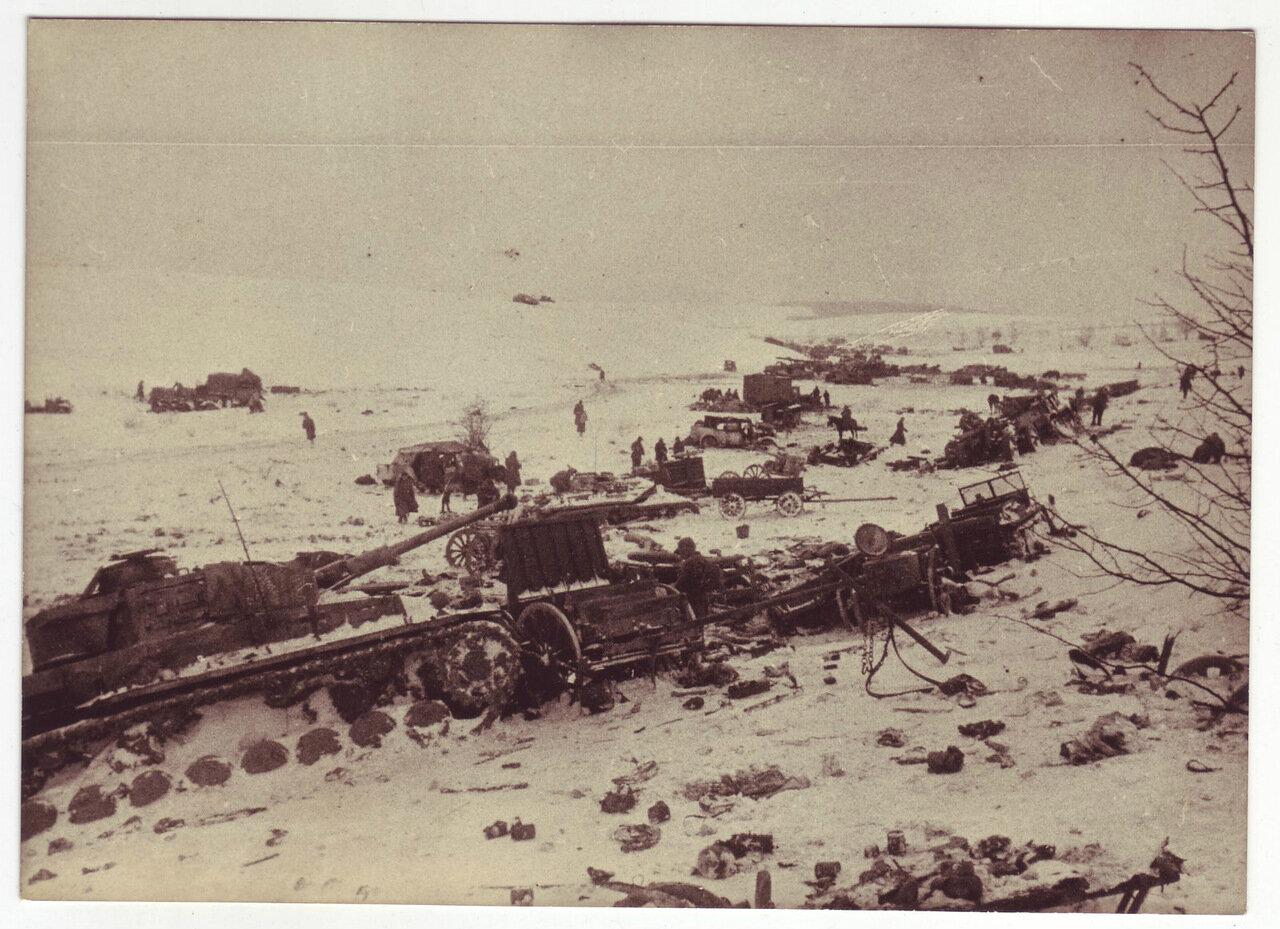 Уничтоженная немецкая техника, 1944