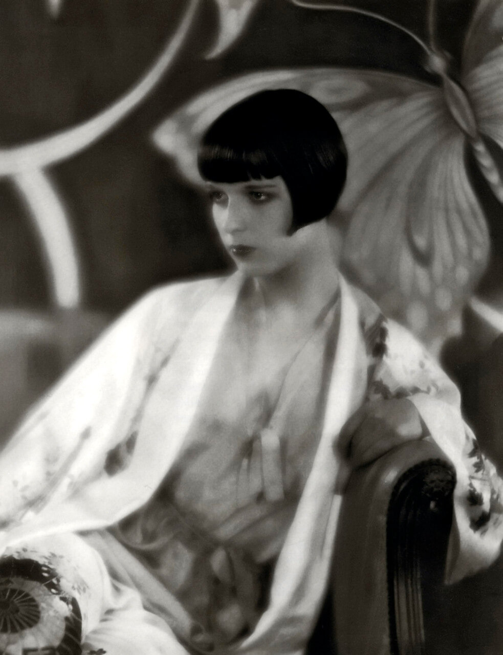louise brooks 1928 - by eugene robert richee