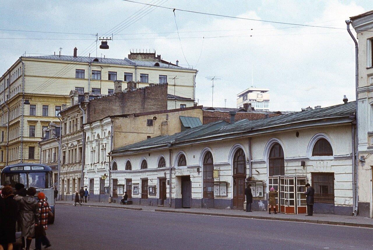 Торговые ряды в Замоскворечье.