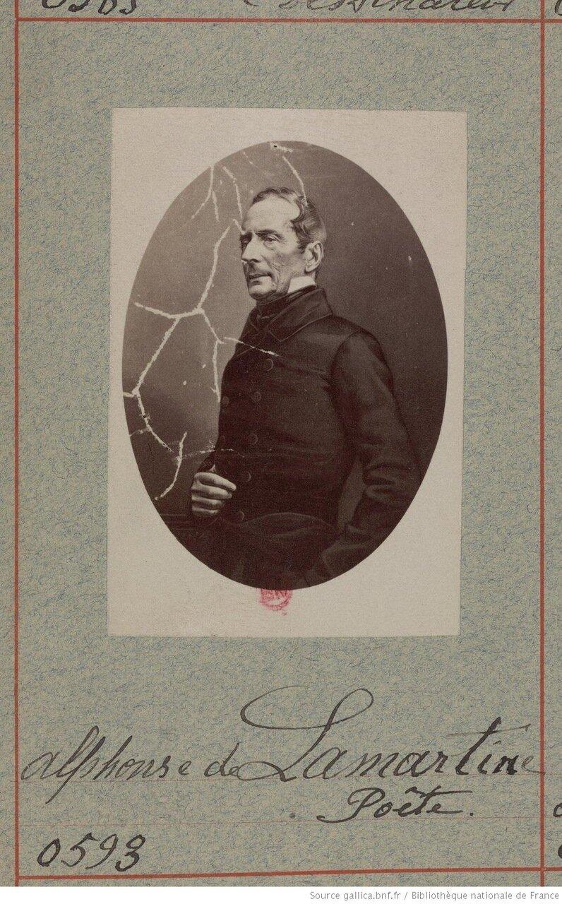 Альфонс де Ламартин (21 октября 1790 — 28 февраля 1869), поэт