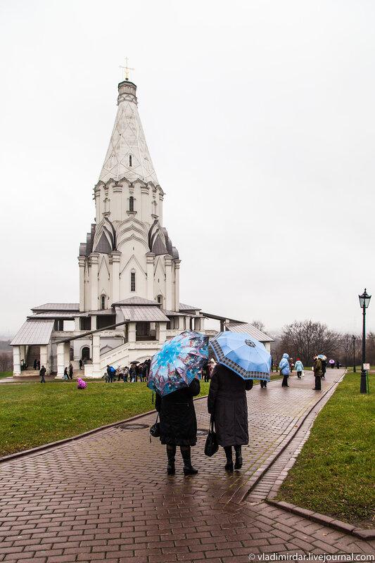 Колокольный концерт в Коломенском