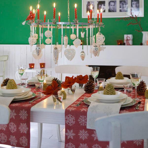 Оформление праздничного стола своими руками на новый год