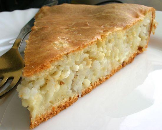Пироги с рисом в духовке рецепты