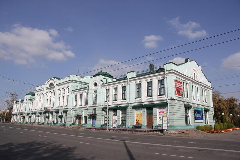 Омский музей изобразительных искусств имени М.А. Врубеля