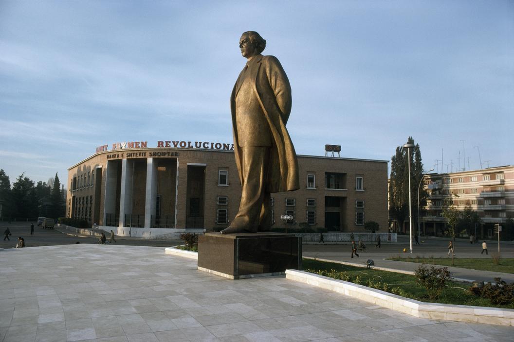 1990 Tirana Hoxha by Martin Parr.jpg