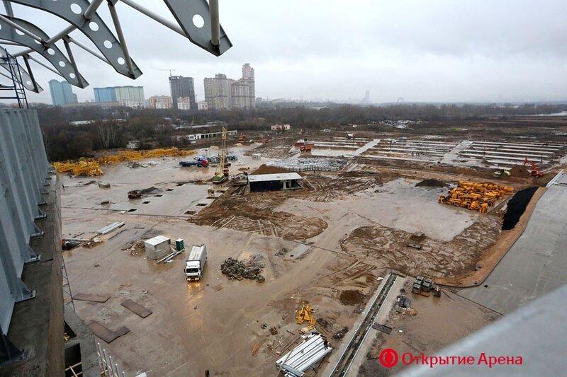 Пуск тепла на стадионе «Открытие Арена» (Фото)