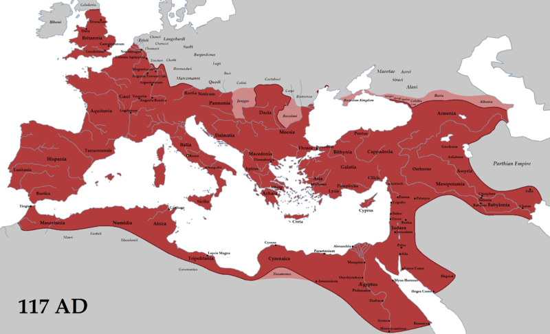 Список крупнейших государств в истории