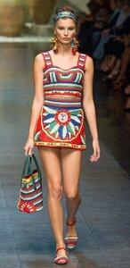 Солнце Сицилии: Dolce & Gabbana Spring Summer 2013
