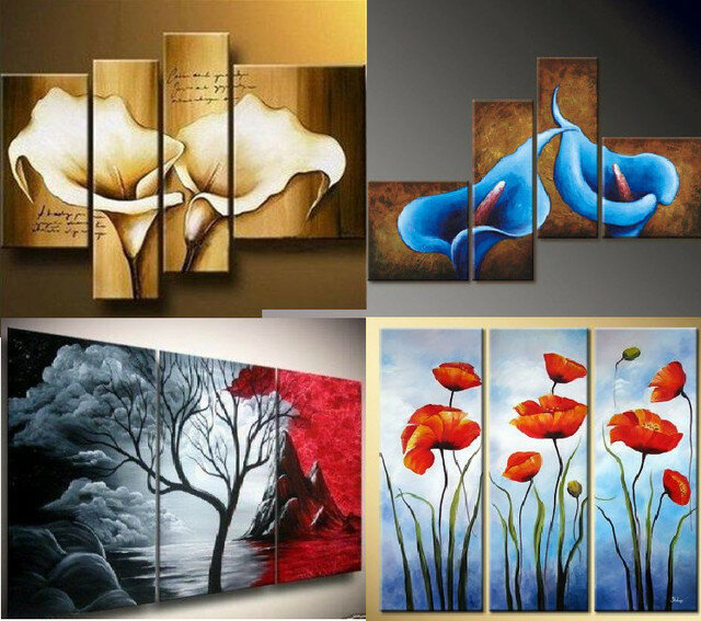 Модульные картины - эффектное украшение интерьера