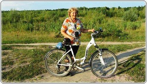 прогулки на велосипеде
