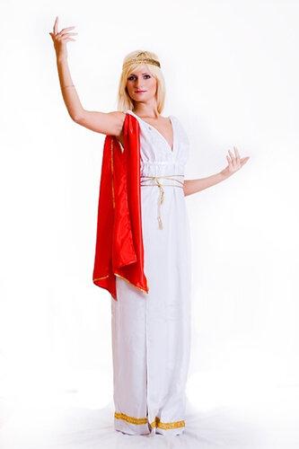 Женский карнавальный костюм Греческая богиня