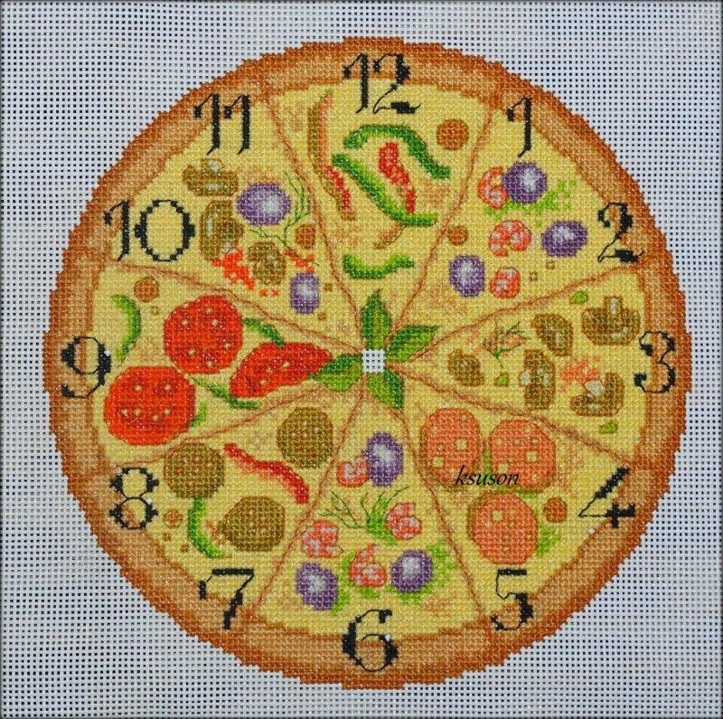 часы-пицца - Самое интересное