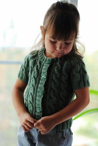 Вязание для детей из толстой пряжи 48