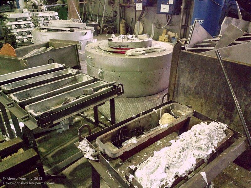 Переплавка отходов алюминия