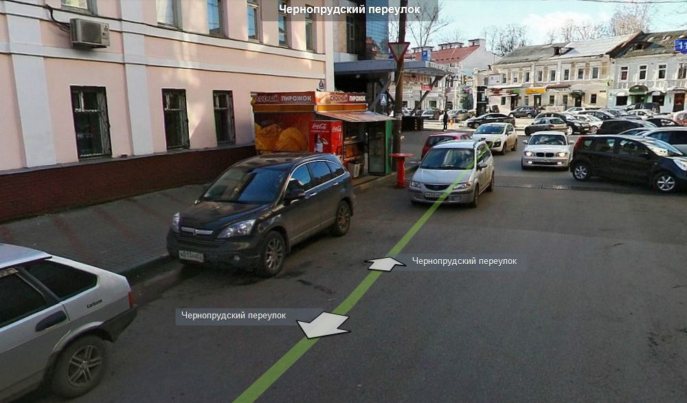 Киоск на панорамах Яндекса