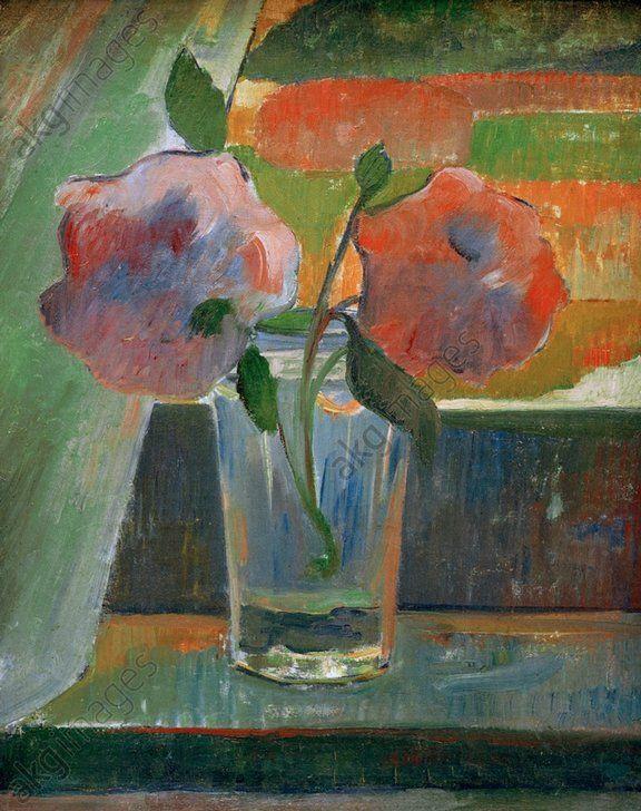 J.Meyer de Haan, Stilleben: Blumen in G. - J.Meyer de Haan / Still Life: Flowers -